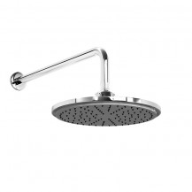 Round 200mm Rain Shower Head & Wall Arm
