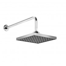 Square 150mm Shower Head & Wall Arm