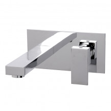 Cube Wall Mounted Basin Mono Tap