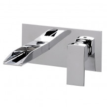 Tabor™ Waterfall Wall Mounted Bath Filler