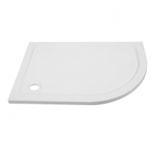 Ultralite 900 x 760 Right Hand Offset Quadrant Shower Tray