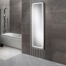 Zeus Elongated Illuminated LED Mirror 1400(H) 420.5(W) 40.5(D)
