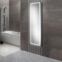 Zeus Elongated Illuminated LED Mirror 1400(H) 420.5(W) 40.5(D)
