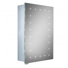 Roma Illuminated LED Mirrored Cabinet 700(H) 500(W) 150(D)