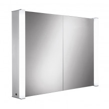 Arora Extended Double Door Illuminated LED Mirrored Cabinet 760(H) 1000(W) 150(D)