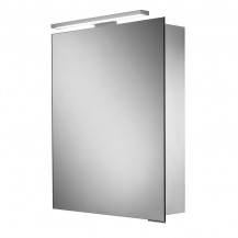 Pluto Illuminated LED Mirrored Cabinet 700-730(H) 500(W) 125(D)