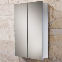 Sapphire Mirrored 2 Door Cabinet 700(H) 450(W) 145(D)