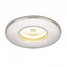 Warm Chrome Fire Rated LED Recessed Light
