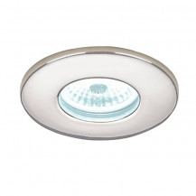 Cool White Chrome Fire Rated LED Recessed Light