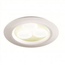 White Warm LED Recessed Ceiling Light