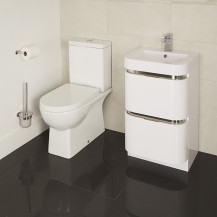 Salou Murcia 50 Floor Mounted Vanity Drawer Unit Suite
