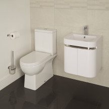 Salou Murcia 50 Wall Mounted 2 Door Vanity Unit Suite