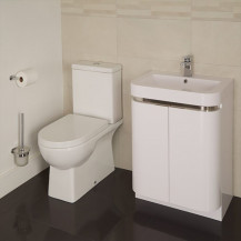 Salou Murcia 60 Floor Mounted 2 Door Vanity Unit Suite