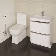 Salou Murcia 60 Floor Mounted Vanity Drawer Unit Suite