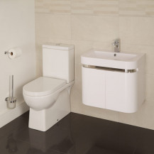 Modena™ Murcia 60 Wall Mounted 2 Door Vanity Unit Suite