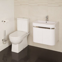 Salou Murcia 60 Wall Mounted 2 Door Vanity Unit Suite