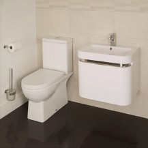 Salou Murcia 60 Wall Mounted Vanity Drawer Unit Suite