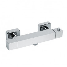 Larkin Square Thermostatic Bar Shower Valve