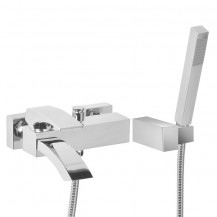 Curve Wall Mounted Bath Shower Mixer