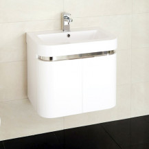 Murcia 60 Wall Mounted 2 Door Vanity Unit