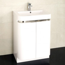 Murcia 60 Floor Mounted 2 Door Vanity Unit