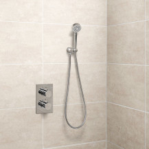 EcoS9 Concealed Dual Control Shower Valve with Diverter, Overflow and Handset