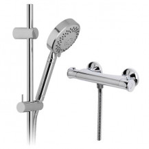 Neptune Slide Shower Rail Kit with Ecobar Valve