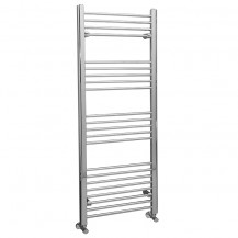 Eco Heat 1600 x 600mm Straight Chrome Heated Towel Rail