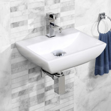 Square Wall Hung Basin