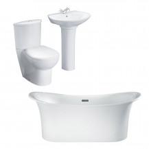 Torrelino Prima Bathroom Suite with Taps