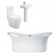 Torrelino Ravenna Bathroom Suite with Taps