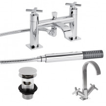 Halo Tap Pack with Basin Waste