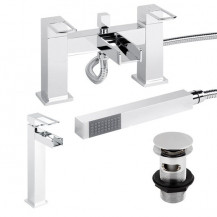 Oasis Tap Pack with Basin Waste