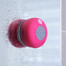 Pink Bluetooth Splashproof Speaker