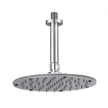 Rotondo Round 195mm Shower Head & Ceiling Arm