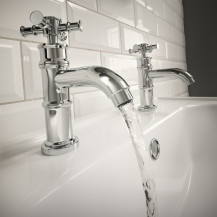 Glenham Traditional Deluxe Basin Taps