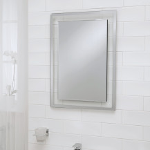 Luxor Bevelled Edge Mirror 700(H) 500(W)