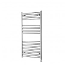 Basilicata Electric 1186 x 600 Chrome Towel Rail