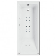 Quatro 1670 x 700 Single Ended Hydrotherapy Bath