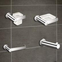 Riverno 4 Piece Premium Bathroom Accessory Pack
