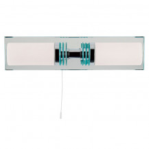 Duo Chrome Mirrored Plate Wall Light