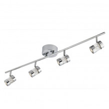 Bubbles Chrome LED Split Bar Spotlight