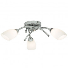 Opera 3 Arm Chrome Bathroom Ceiling Light