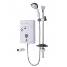 MX Inspiration QI Care 2 Thermostatic White 9.5kW Electric Shower
