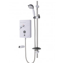MX Inspiration QI Care Thermostatic White 10.5kW Electric Shower