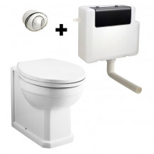 Park Royal ™ Back to Wall Toilet with Concealed Cistern