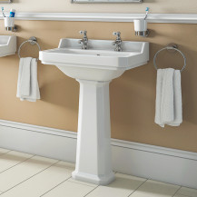 Park Royal ™ 500mm 2 Tap Hole Basin