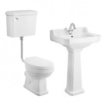 Park Royal™ Low Level Traditional Toilet & 595 Basin Suite