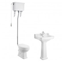 Park Royal™ High Level Traditional Toilet & 595 Basin Suite