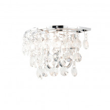 Ohio Clear Crystal Wall Light